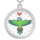 Conure / Lorikeet / Parrot Love Custom Necklace
