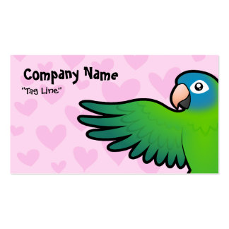 Conure / Lorikeet / Parrot Love Double-Sided Standard Business Cards (Pack Of 100)