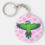 Conure / Lorikeet / Parrot Love Keychains
