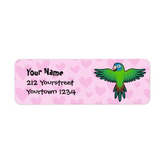 Conure / Lorikeet / Parrot Love Return Address Label