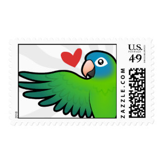 Conure / Lorikeet / Parrot Love Postage Stamps