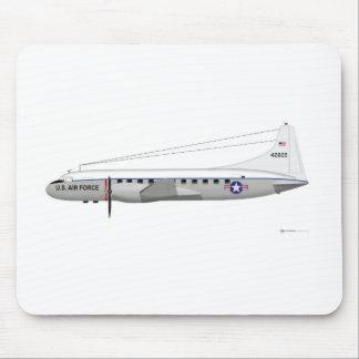 Convair C-131 Samaritan Mouse Pad