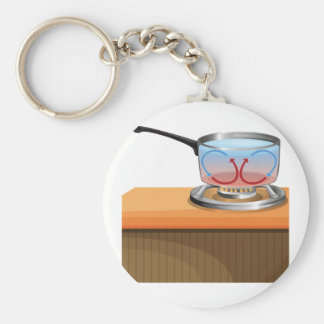 Convection Currents Keychain