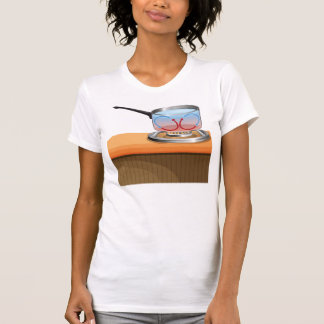 Convection Currents Womens T-Shirt