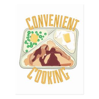 Convenient Cooking Postcard