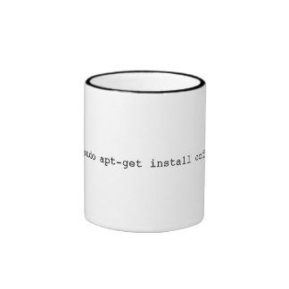 conveniente-consiga instalan el café taza de dos colores