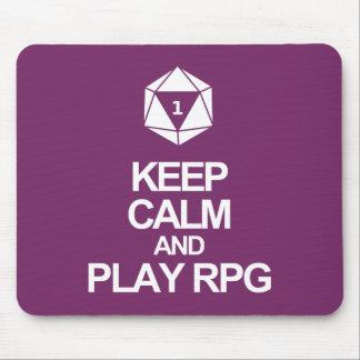 Conveniente para los jugadores del RPG Tapete De Ratón