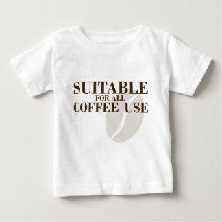 Conveniente para todo el uso del café playeras