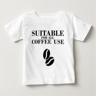 Conveniente para todo el uso del café poleras
