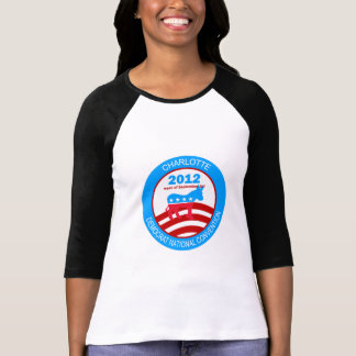 Convenio 2012 de Charlotte Demócrata Camisas