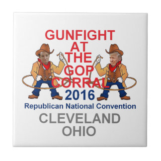 Convenio 2016 del republicano azulejo cuadrado pequeño