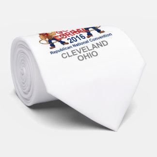 Convenio 2016 del republicano corbatas personalizadas