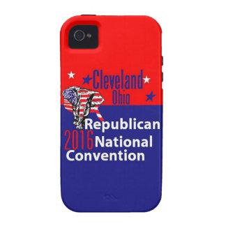 Convenio 2016 del republicano iPhone 4 funda