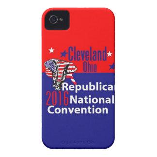 Convenio 2016 del republicano iPhone 4 Case-Mate cárcasa