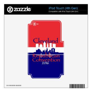 Convenio 2016 del republicano iPod touch 4G skin