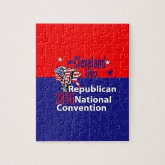 Convenio 2016 del republicano rompecabezas