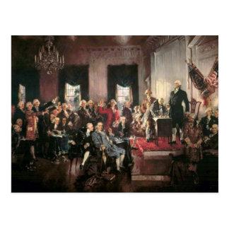 Convenio constitucional tarjeta postal