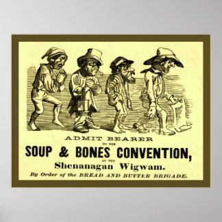 Convenio de la sopa y de los huesos impresiones