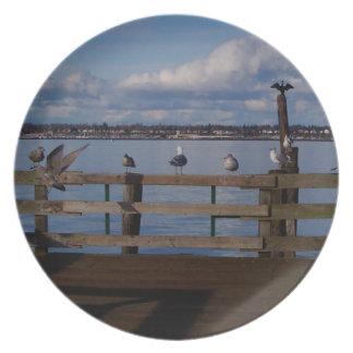 Convenio del ave marina platos