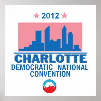Convenio Democratic Poster