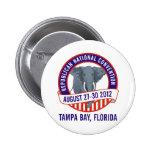 Convenio republicano 2012 pins