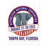 Convenio republicano 2012 tarjetas postales