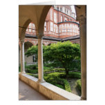 Convent Courtyard Card