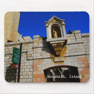 Convent in Nazareth, Israel Mouse Pad