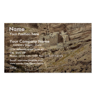 Convent of Elijah and Brook of Kerith, Wady-el-Kei Double-Sided Standard Business Cards (Pack Of 100)