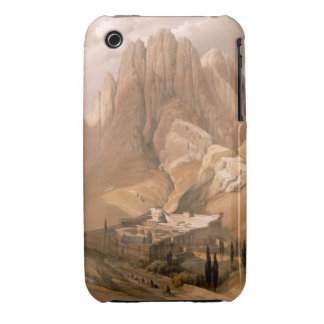 Convent of St. Catherine with Mount Horeb, Februar iPhone 3 Case-Mate Case