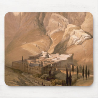 Convent of St. Catherine with Mount Horeb, Februar Mouse Pad