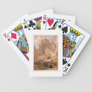 Convent of St. Catherine with Mount Horeb, Februar Bicycle Card Decks