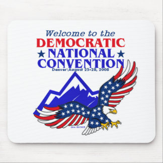 Convention DNC Obama Mousepad
