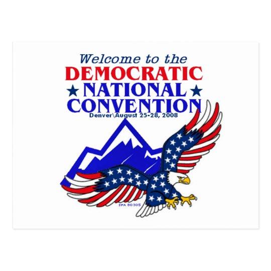 Convention DNC Obama Postcard