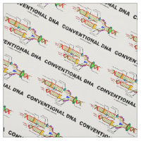 Conventional DNA Molecular Biology Humor Fabric