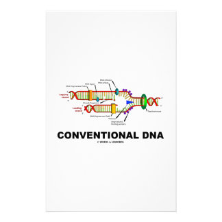 Conventional DNA Molecular Biology Humor Stationery