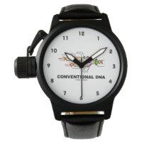 Conventional DNA Molecular Biology Humor Wrist Watches