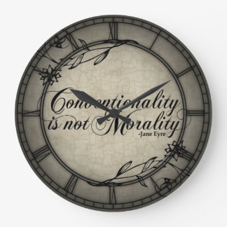 Conventionality Is Not Morality Round Clocks