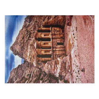 Convento ad-Deir tarjeta postal