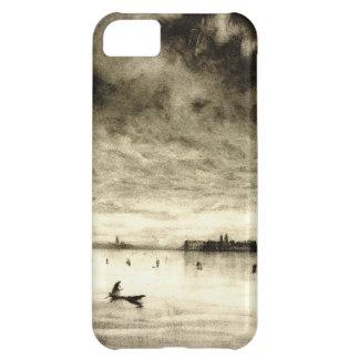 Convento armenio Venecia Italia 1905 Funda Para iPhone 5C
