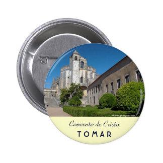 Convento de Cristo 2 Inch Round Button