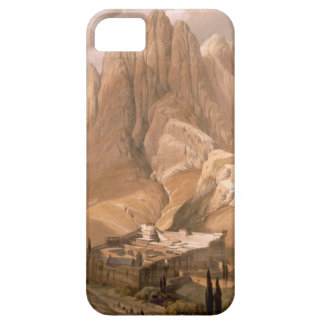 Convento de St. Catherine con el soporte Horeb, iPhone 5 Carcasa