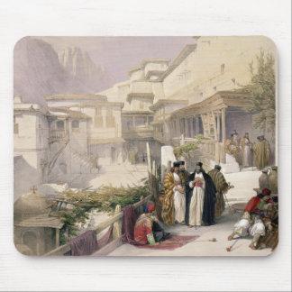 Convento de St. Catherine, monte Sinaí, el 17 de f Tapetes De Ratones