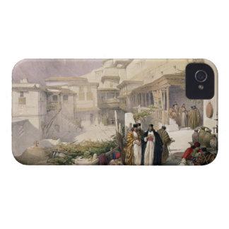 Convento de St. Catherine, monte Sinaí, el 17 de iPhone 4 Case-Mate Carcasa