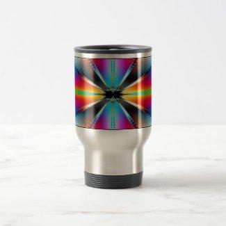 'Convergence' mug