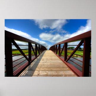 Convergencia del puente póster