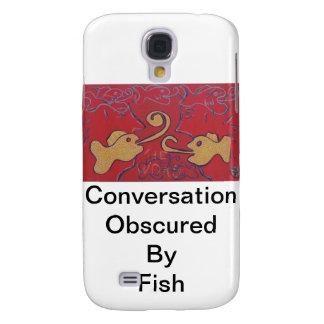 Conversación obscurecida por los pescados funda para galaxy s4