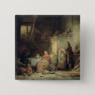 Conversation after the Meal, 1840 Button