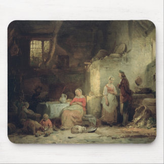 Conversation after the Meal, 1840 Mouse Pad