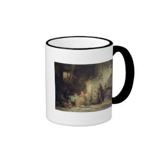 Conversation after the Meal, 1840 Ringer Mug